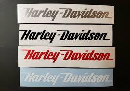 2 Custom Text Decals Golf Leaf Chopper Harley Davidson Sticker Motorcycle Helmet For Sale Online Ebay