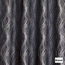 Fabric For Curtains Resene Tease 137cm Charcoal