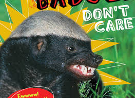 honey badger says read this book stupid