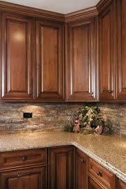 kitchen backsplash ideas dark cherry