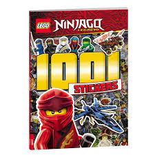 LEGO® NINJAGO® 1001 Stickers - AMEET