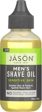 Amazon.com: JASON Men's Sensitive Skin Shave Oil, 2 oz. (Packaging May  Vary): Beauty