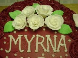 Myrna's Bday Cake - CakeCentral.com