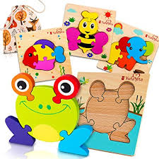 wooden puzzles for toddlers unique
