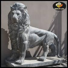lion garden statues concrete garden