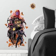 Avengers Wall Decals Roommates Decor