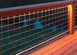 Mesh Hog Panels For Deck Railing And Residential Guardrail Requirements