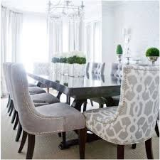 Pin By Kasey Dalton Strahm On For The Home Dining Room Chairs Upholstered Grey Dining Room Transitional Dining Room