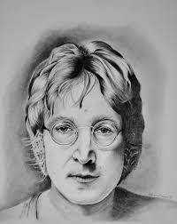 John Lennon Drawing by Adriana Holmes | Saatchi Art