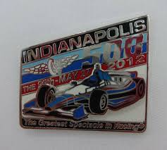 2012 Indianapolis 500 Car Mount Collector Lapel Pin Indy500 ...