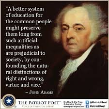 quote john adams on education the patriot post
