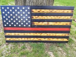 thin red line service flag air force