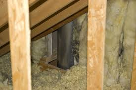 insulating around fireplace flue
