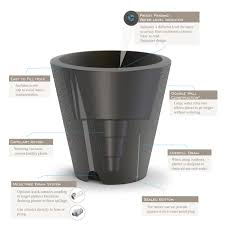 dot trudrop self watering planter