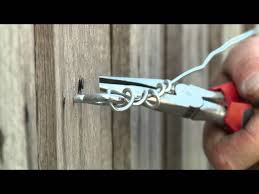 How To Attach Bamboo Screening To Colorbond Fence
