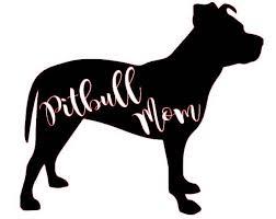 Pitbull Mom Svg File By Kristenskreationsllc On Etsy Pitbull Mom Decal Pitbull Mom Paw Wallpaper