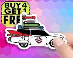 Ghostbusters Sticker Etsy