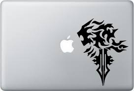 Final Fantasy Lionheart Lion Heart Apple Macbook Laptop Vinyl Decal Sticker For Sale Online