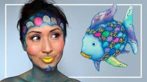 rainbow fish makeup tutorial jubayna