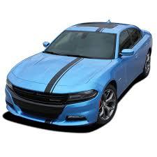 2015 2020 Dodge Charger Hood Stripes E Rally Mopar Decals Vinyl Graphics Racing Stripe Kit