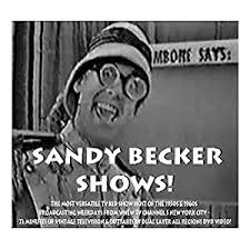 Amazon.com: Sandy Becker DVD Classic TV Kid Show Episodes And Outtakes:  Movies & TV