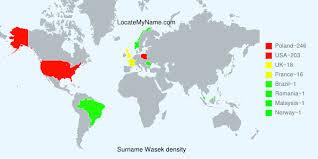 Wasek in Poland