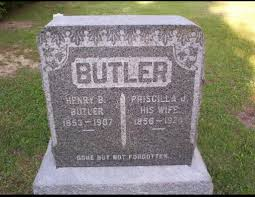 Priscilla Jane Butler (Smith) (1856 - 1924) - Genealogy