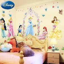 Disney Princess Wall Decals Princess Room Decor Disney Room Decor Kids Wall Decals