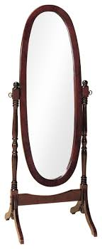 cheval mirror full length solid wood