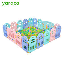 Buy Baby Playpen Fencing For Children Plastic Playpen For Baby Indoor Kids Plastic Fence Play Yard Safety Barriers For Children From Part And Supply Shop