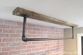 diy ceiling mounted pull up bar great