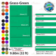 2mm 100mm Pinstriping Pin Stripe Tape Styling Decal Vinyl Stickers Grass Green Unbrandedgeneric Car Decals Vinyl Vinyl Sticker Car Decals