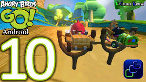 Angry Birds GO Android Walkthrough - Part 10 - Rocky Road: Track 3 ...