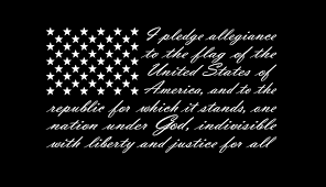 Buy American Flag Pledge Of Allegiance Vinyl Truck Window Sticker Decal 13 X 23 Online At Low Prices In India Amazon In