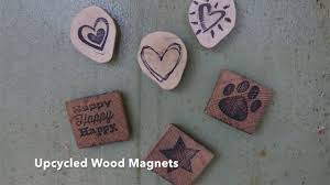 how to make upcycled rustic wood