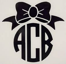 Auto Parts And Vehicles Car Truck Graphics Decals Daisy Flower Initials Monogram Coffee Cup Colors Car Window Vinyl Decal Sticker Dcaeagles Com