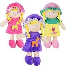 soft toy dolly xmas christening gift