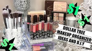 1 makeup organizers dollar tree ideas