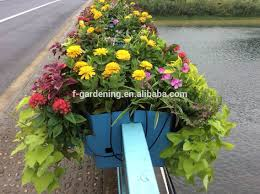 Garden Hanging Fence Planters Rail Planter Buy Vertical Garden Planter Hanging Fence Planters Vertical Garden System Product On Alibaba Com