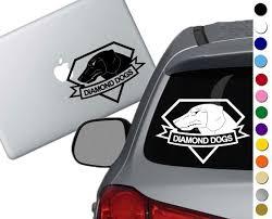 Metal Gear Solid Diamond Dogs Decal Sticker