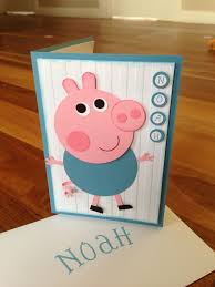 Stampin Up George Pig Personalised Card Tarjetas Creativas