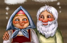 Жили=были Дед и Баба. Сценка с песнями. | Prazdnikson