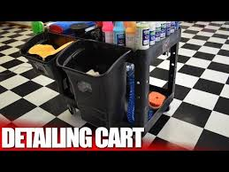 The Best Auto Detailing And Car Wash Supply Cart Youtube