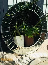 round mirror modern home decor sunburst