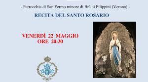 22 Maggio - Recita del Santo Rosario - YouTube