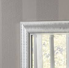 wall mirror with chrome pinstripes 170