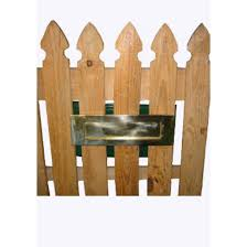 Aluminium Fence Letter Box Letterboxes Direct Mailmaster Letterboxes
