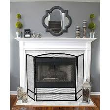 fireplace screen 48 in w x 30 in h 3