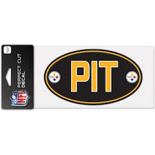 Official Pittsburgh Steelers Car Decal Steelers Window Decal Window Decal For Cars Nflshop Com
