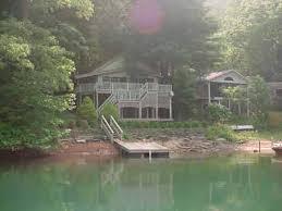 lake santeetlah deep water lake front